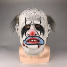 Masque Punk dhorreur de Cosplay The trappeur masque en Latex de scène dhalloween, accessoire de Costume de fête de Cosplay