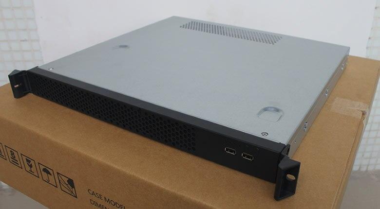 Ultra short 1U font b server b font computer case depth 420mm Be applicable 19 Rack
