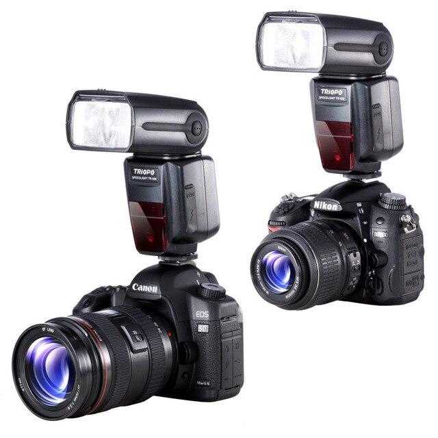 TRIOPO TR-988 Chuyên Nghiệp Speedlite TTL Máy Ảnh Flash với Tốc Độ Cao Sync cho Canon và Nikon Kỹ Thuật Số Máy Ảnh SLR TR988 + Diffuser