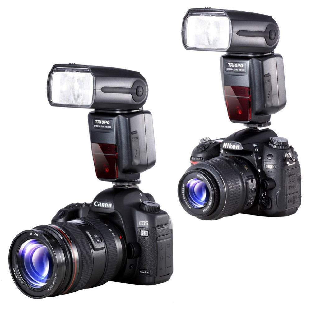 TRIOPO TR 988 Professional Speedlite TTL Camera Flash with ...
