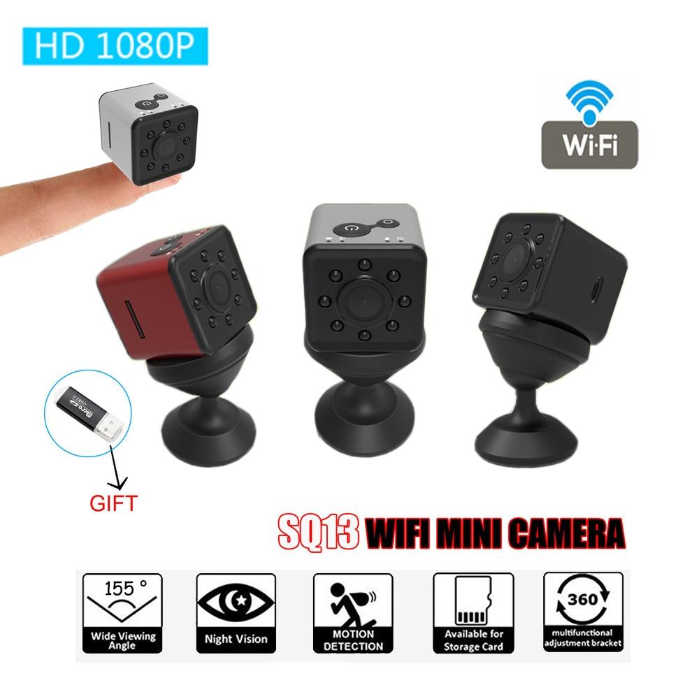 SQ13 Mini D'origine Caméra WiFi Cam Full HD 1080 p Étanche DV Enregistreur Nuit Vision Petite Action Caméra Caméscope PK SQ12 11