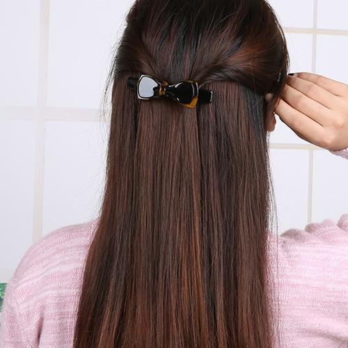 Kadın Saç Aksesuarları Güzel Leopar Yay Kızlar Için Saç Klip - Elbise aksesuarları - Fotoğraf 5