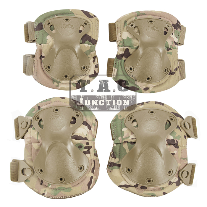 Radient Emerson Tactical Xtak Elbow & Knee Pads Emersongear X-shaped Light & Flexible Joint Protection Protector Clothing, Shoes & Accessories