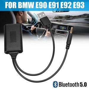 Image 5 - Voor Bmw E90 E91 E92 E93 Bluetooth Ontvanger Autoradio 3.5 Mm Jack Plug AUX IN Aux Kabel BT5.0 Muziek Bluetooth adapter
