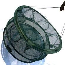 Automatic Fishing Net Shrimp Cage Nylon Foldable Crab Fish Trap Cast Net Cast Folding Fishing Network