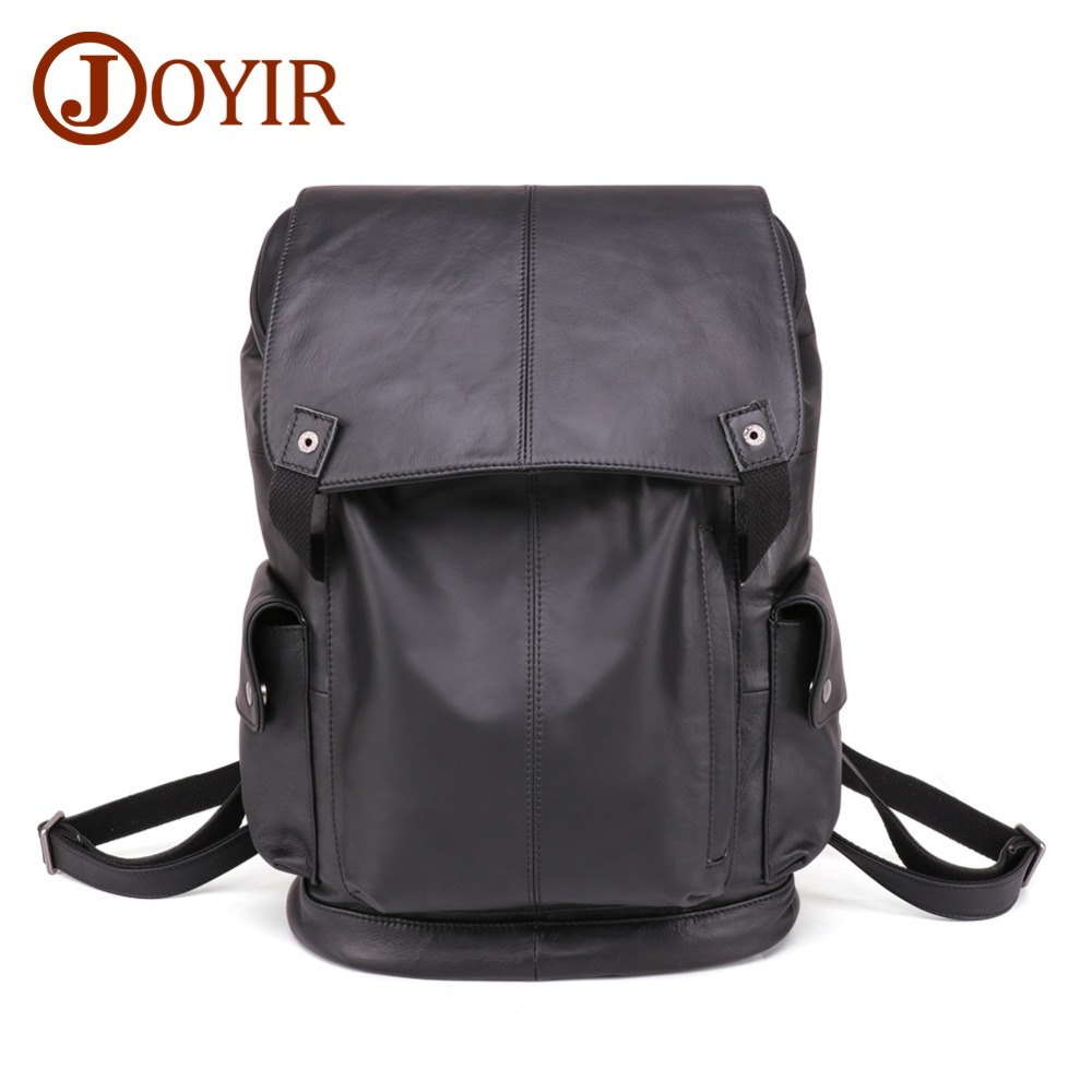 JOYIR New Genuine Leather Business Backpack Men Fashion Notebook Laptop Bags Mens Leather Travel Backpack Male Big BackpackJOYIR New Genuine Leather Business Backpack Men Fashion Notebook Laptop Bags Mens Leather Travel Backpack Male Big Backpack