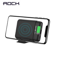 ROCK 10000mAh Mini Wireless Charger Power Bank External Battery Wireless Charging Powerbank For iPhone Samsung Xiaomi Poverbank|Power Bank| |  -