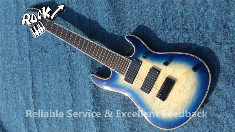 initial factory china cusotm guitars neck through mayones 8 strings electric guitar abalone. Black Bedroom Furniture Sets. Home Design Ideas