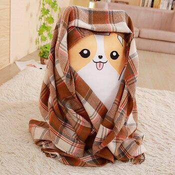 Подушка собака корги 60х35 см