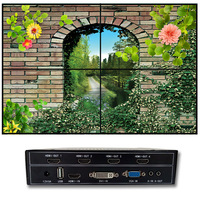 Video Wall Controller For Diy 2x2 Tv Video Wall Display