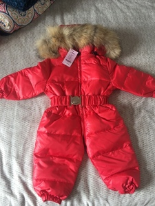 Image 5 - Childrens high end fashion warm conjoined down jacket