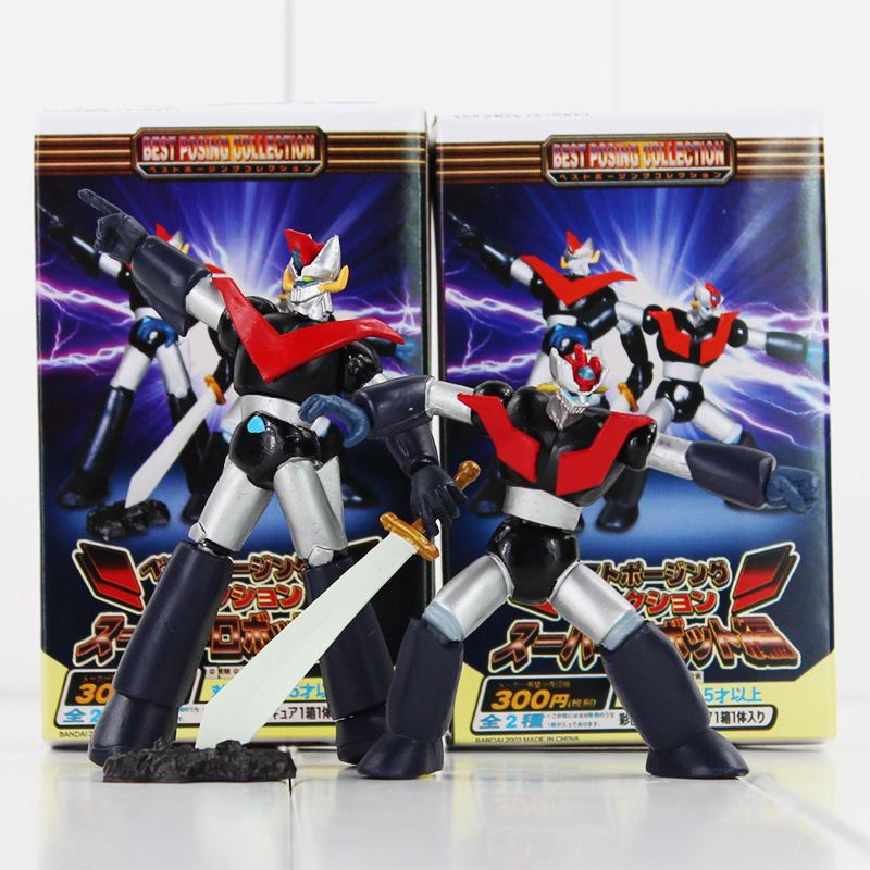 2pcs/lot 15cm Anime <font><b>Mazinger</b></font> <font><b>Z</b></font> PVC Action <font><b>Figure</b></font> Kids Toys <font><b>Mazinger</b></font> <font><b>Z</b></font> Model Cool Doll Birthday Gifts image