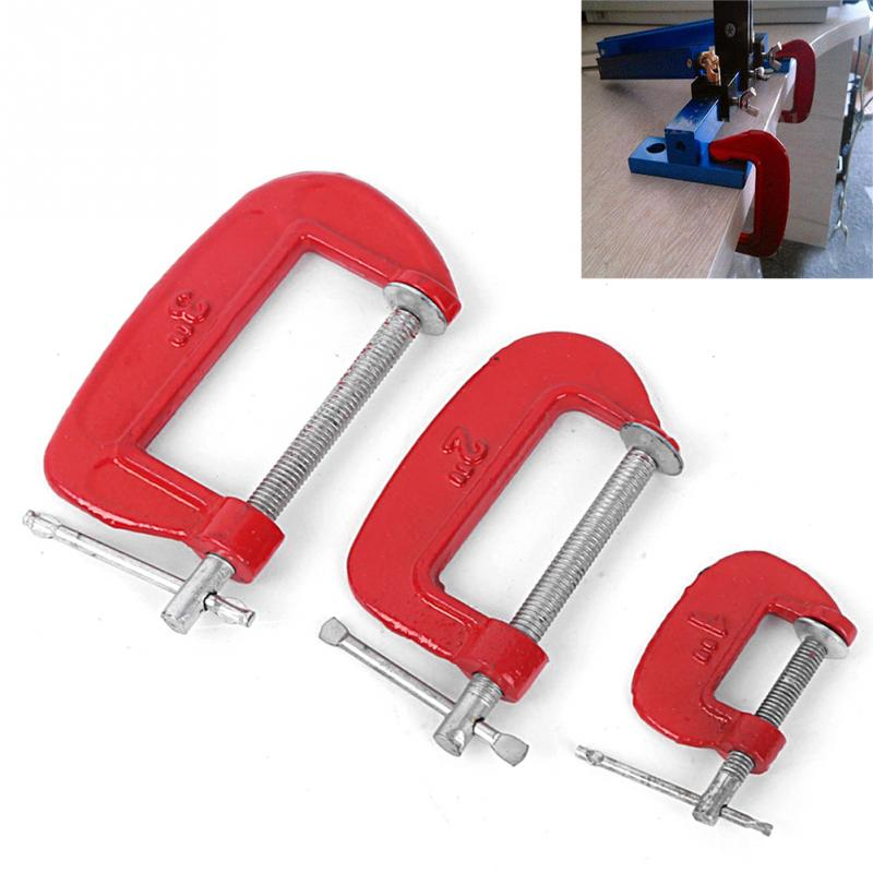 Inch woodworking c clamp g heavy duty metal