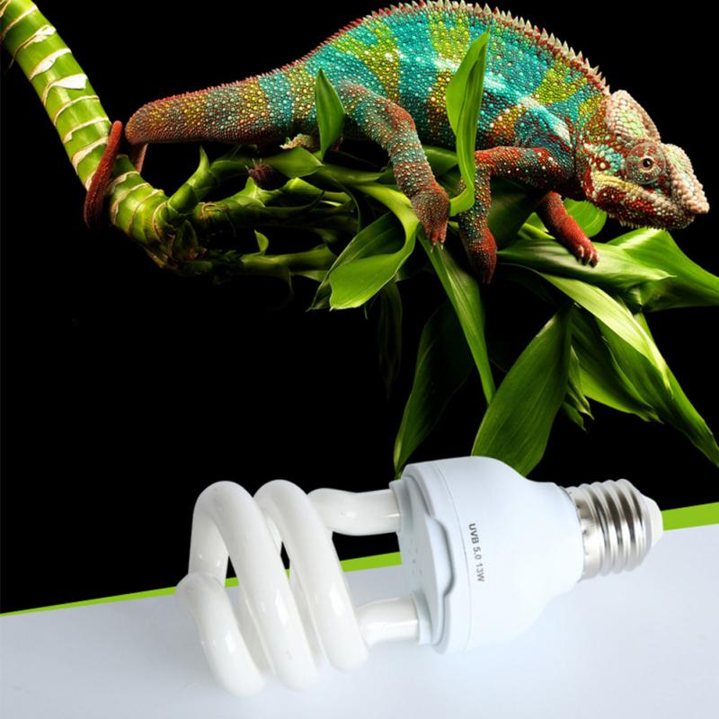 5.0 10.0 Uvb 13w Reptile Light Bulb Uv Lamp Vivarium Terrarium Tortoise Turtle Snake Pet Heating Light Bulb 220v-240v #3