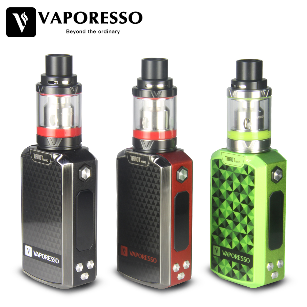 Original 80W Vaporesso Tarot Nano TC Kit 2500mAh with VECO EUC Tank 2ml Tarot MOD 80W OMNI Board w/ EUC Coil Vaping Kit
