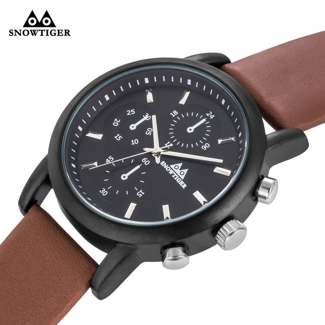 023eace05e26e New Reloj Hombre Mens Watches Top Brand Luxury Black Watch Waterproof Best  Watches For Men Quartz Sports Military Watches Online