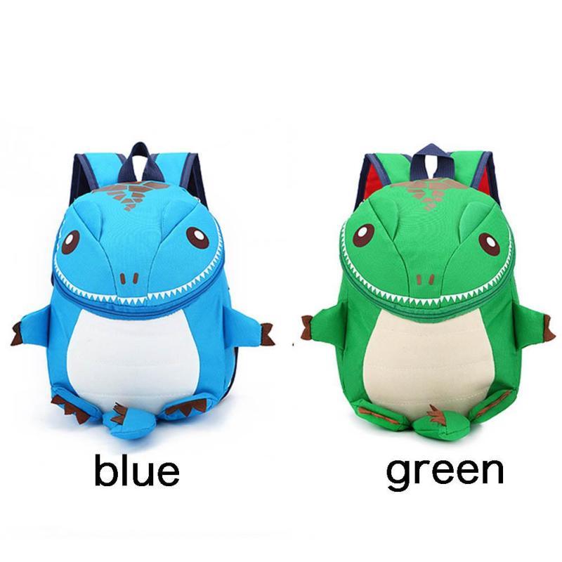 3c9964341d0f 3D Dinosaur School Bag Cute Nylon Animals Backpack for Kids Kawaii ...