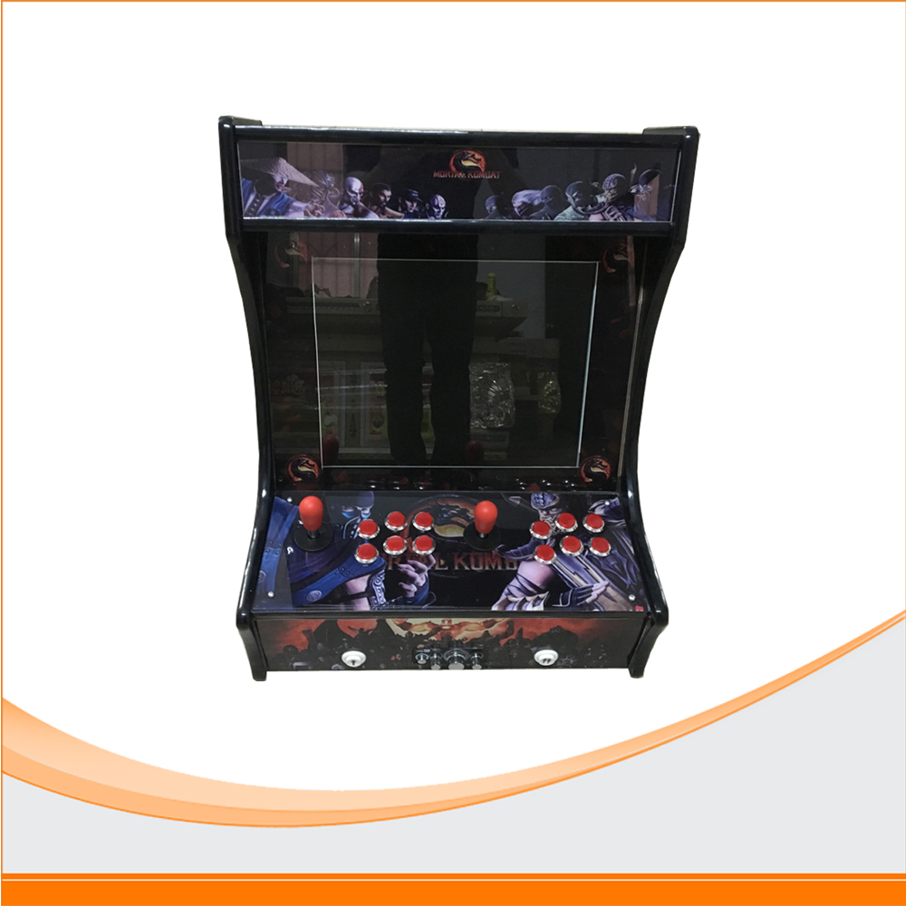 Hot sale newest Family Professional classic wooden mini simulator arcade desktop video game console machines funny fishing game family child interactive fun desktop toy