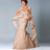 Mãe Da Noiva Do noivo Vestidos formais vestir roupas Com xale de Renda Plus Size Vestidos de Noite vestido de festa de casamento
