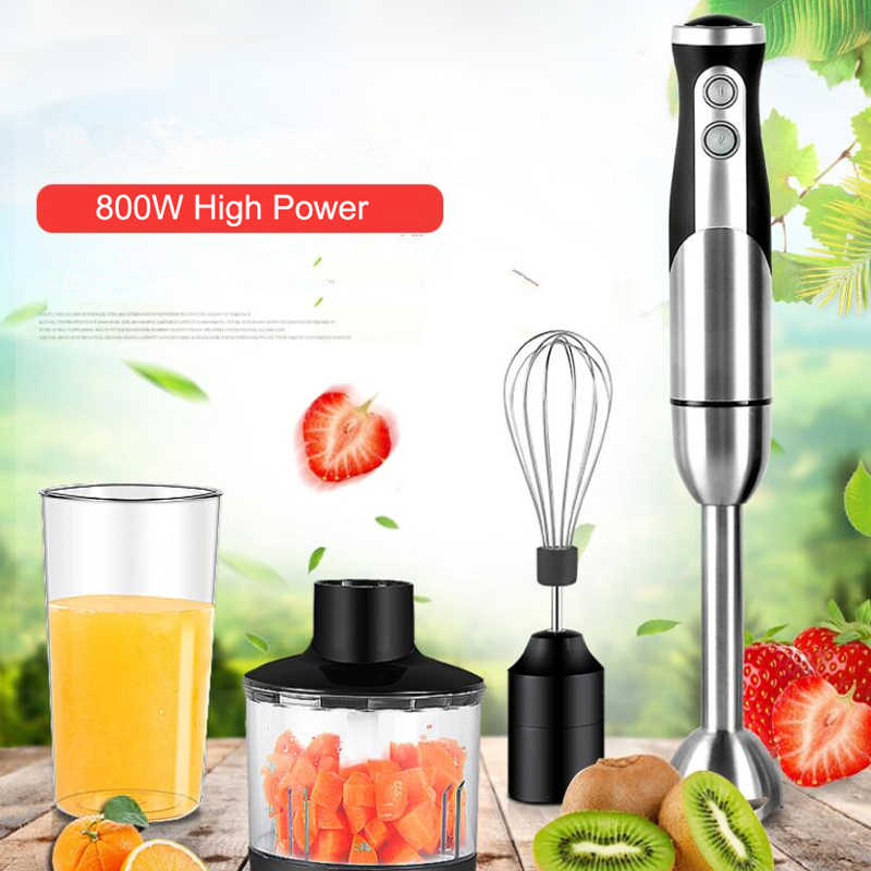 Sıcak ALMAN Motor Teknolojisi elektrikli el blenderi, sopa blender mikser, Smart stick gıda işlemcileri