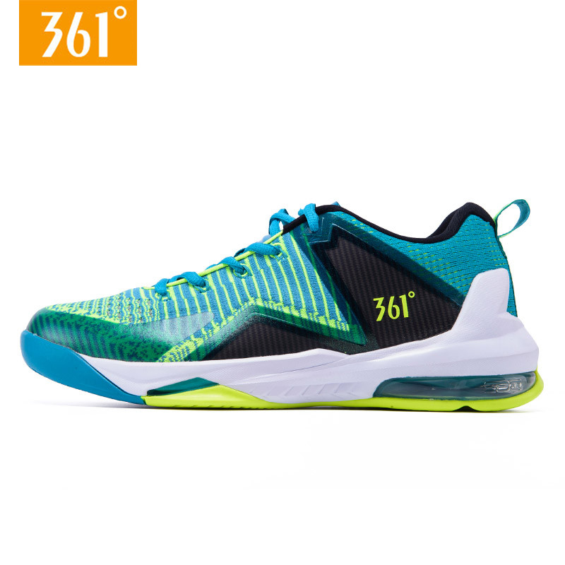 45b75e64eb79 361 Shoes Hero Men Basketball Sports Shoes Knit Sac-air Air Cushioning  Breathable Sneakers 571711112