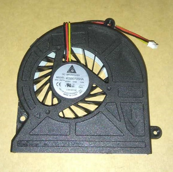 SSEA Brand New CPU Cooling Fan 3pin for Toshiba Satellite C600 C645 C650 C655 C660 L650 L630-06S L630-02S