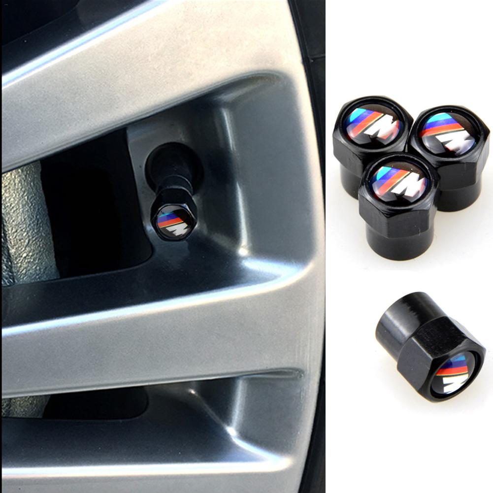 цены 4pcs Valve Cap Car-styling Case For BMW F30 F20 F10 F15 M6 X1 X3 X5 X6 Senies 320I 118I 328I 530I Car Tire Valve Cap