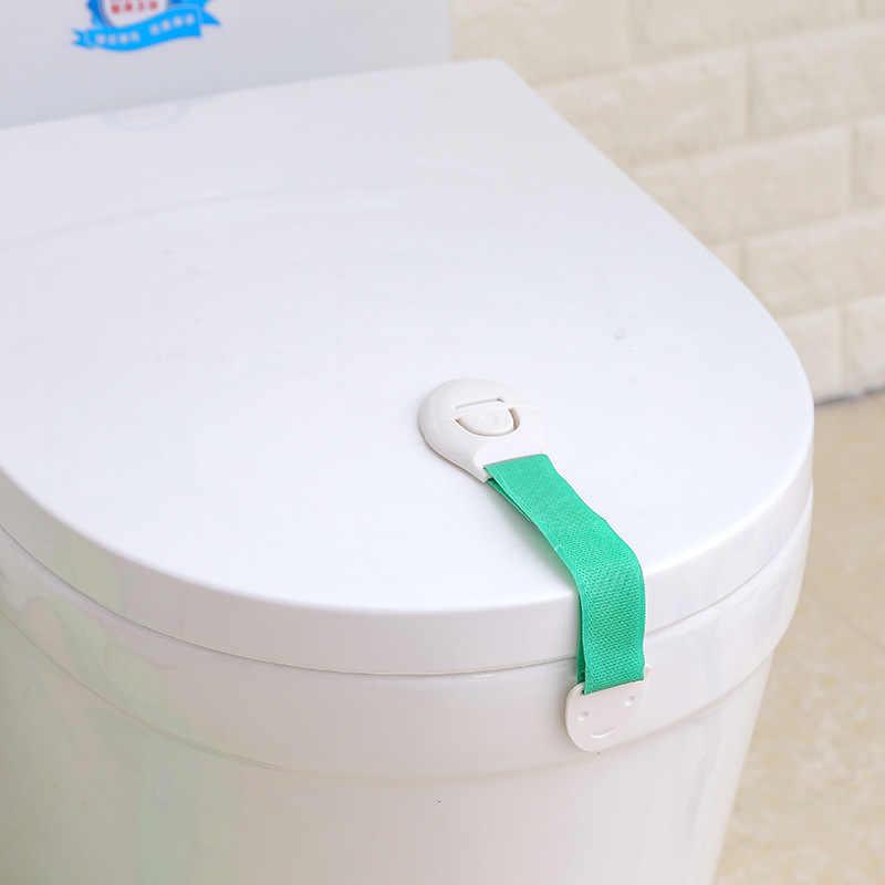 เด็กทารกป้องกันลิ้นชักประตูตู้ห้องน้ำล็อคความปลอดภัยเด็กทารกความปลอดภัย Care พลาสติกล็อคสายรัด