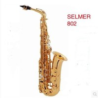 The New France Brand Henri Selmer Paris Alto Saxophone 802 E Musical Instrument Alto Sax Saxfone