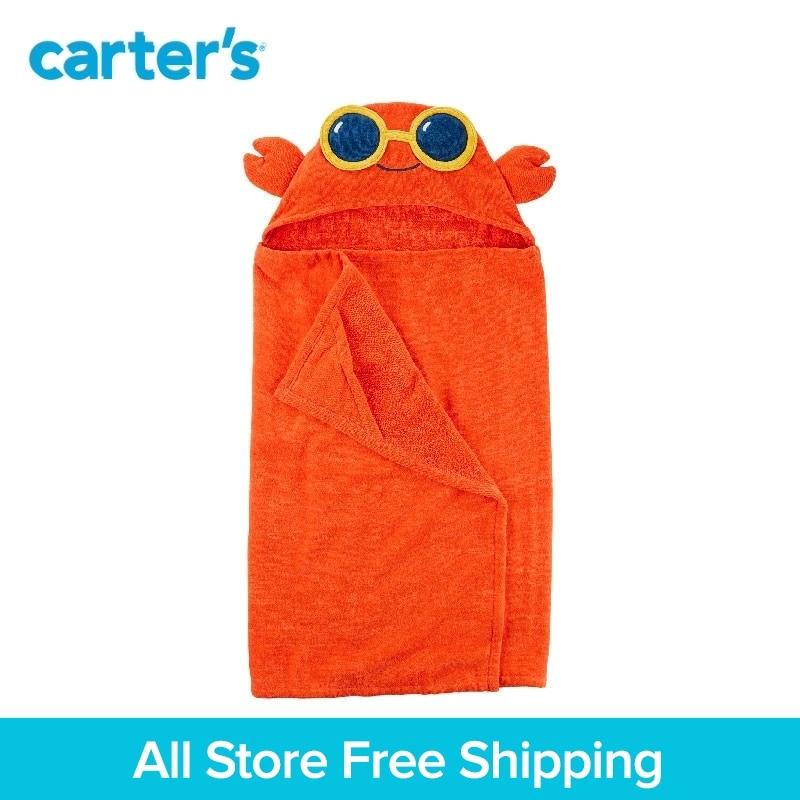1-pezzo di carter del bambino dei capretti dei bambini dei vestiti Del Ragazzo di Estate 3D gambe di Granchio con occhiali da sole Con Cappuccio Asciugamano 240G048