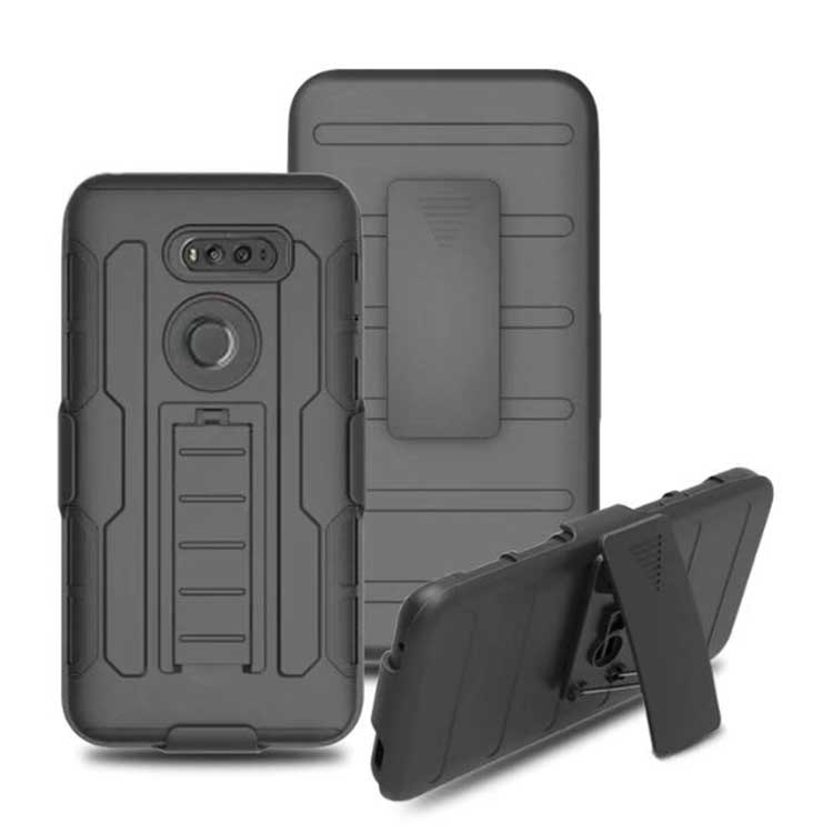 Case For Google Pixel 2 XL 2XL Hard Armor 2 In 1 Plastic Stand Luxury Back Cover Phone Bags Cases For Google Pixel 2 XL