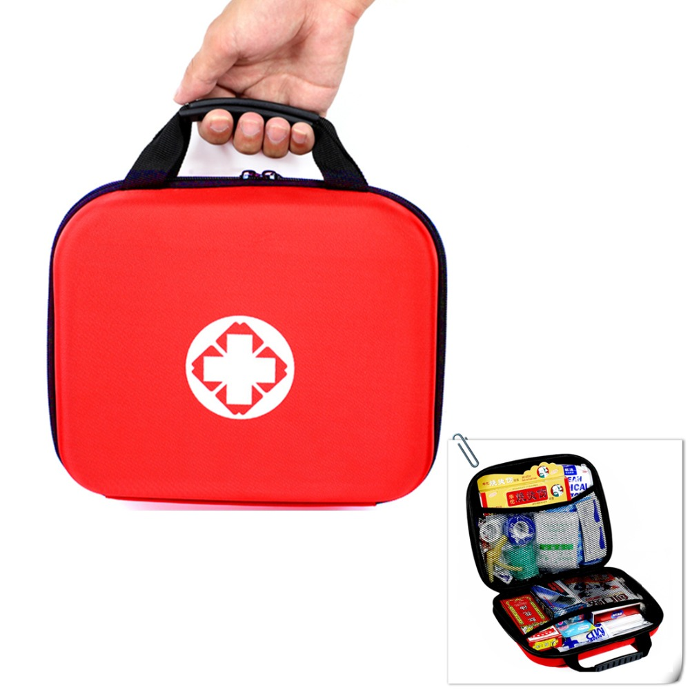 Handy Empty First Aid Bag EVA Medical Bags Emergency Kit Compact Lightweight For Home Outdoor Travel Hiking Camping School