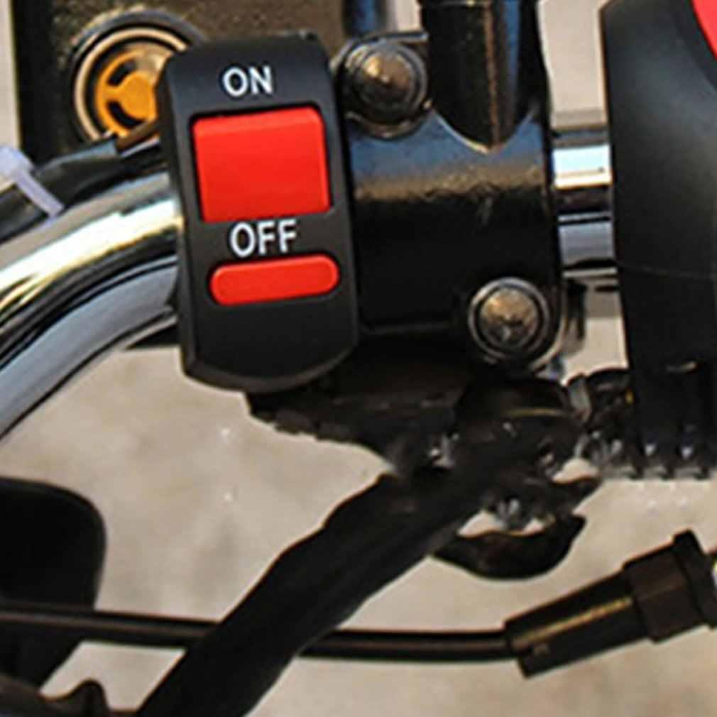 Guidon de démarrage électrique | Moto hors route universel, démarrage et démarrage électrique Durable, interrupteur électrique de démarrage