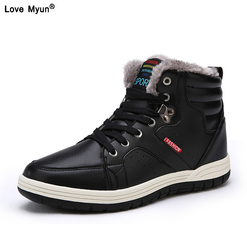 Brand Winter Men Fashion Leather Boots Casual Men Leather Moccasin Winter Men Shoes Men Ankle Boots Cheap Cowboy Boots gh89
