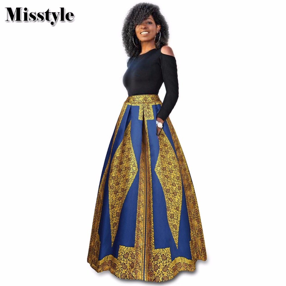 29d621cfa48 Misstyle Two Pieces Print Maxi Dress Casual Women Hole Long Sleeves O-Neck  Empire Waist