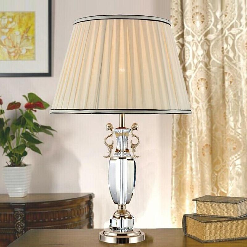 Bedside Light Factory Direct Sale Large Candelabra Lamp Crystal Table Lamp Desk Lamp Big Candle