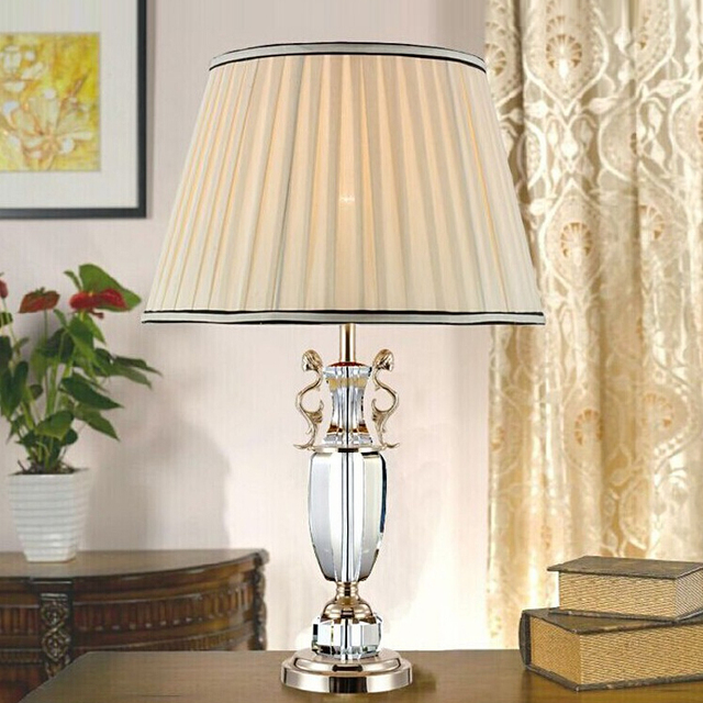 Bedside Light Factory Direct Sale Large Candelabra Lamp Crystal Table Lamp  Desk Lamp Big Candle Holder