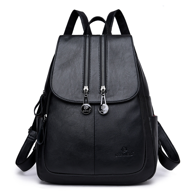 High Quality Women Backpack Leather Bags Real Leather Backpack Fashion Luxury Backpack Women Genuine Leather School Bags