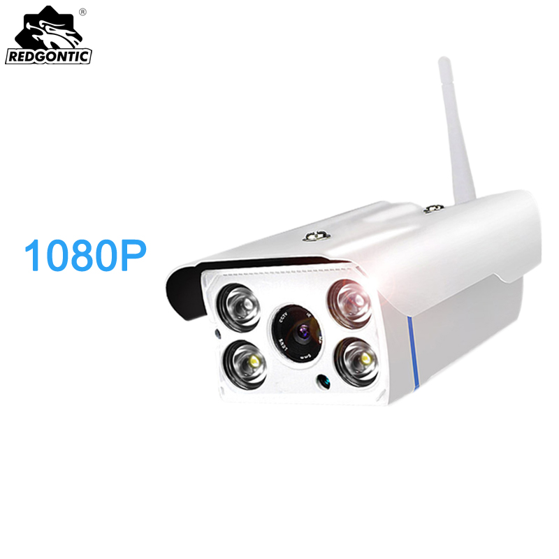 1080P Bullet IP Camera Outdoor Wireless cctv Camera 2MP Motion Detection Waterproof Night Vision Home Security Surveillance gakaki outdoor 960p bullet ip camera dual antenna p2p motion detection waterproof security night vision surveillance cctv camera