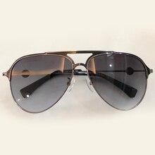 Óculos de Sol dos homens Designer de Marca de Alta Qualidade Oculos de sol Masculino Óculos Piloto Estilo Do Vintage Da Moda Eyewear