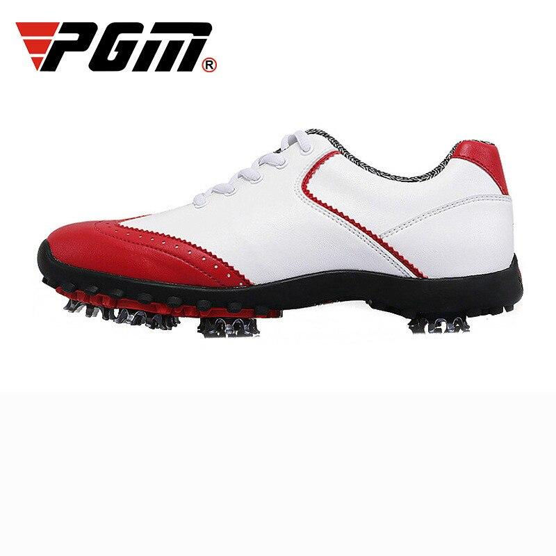 Golfe das Senhoras Esportivos sem Picos Respirável à Prova Água para as Mulheres 2020 contra Genuína Sapatos Calçados Pgm d'