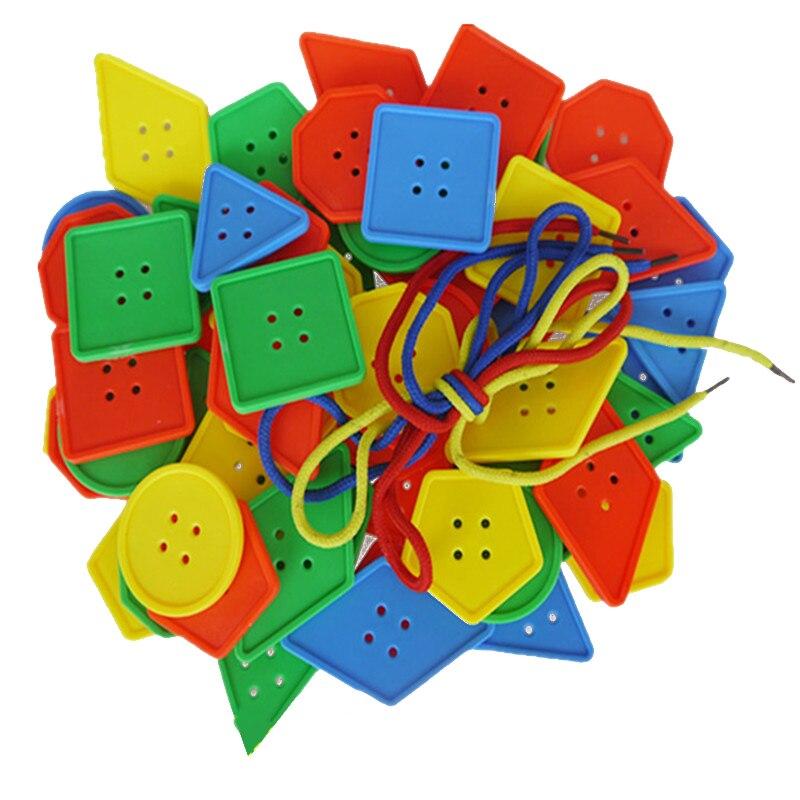 1 Set Kids Puzzles Tangram Logic Game Montessori Toys For