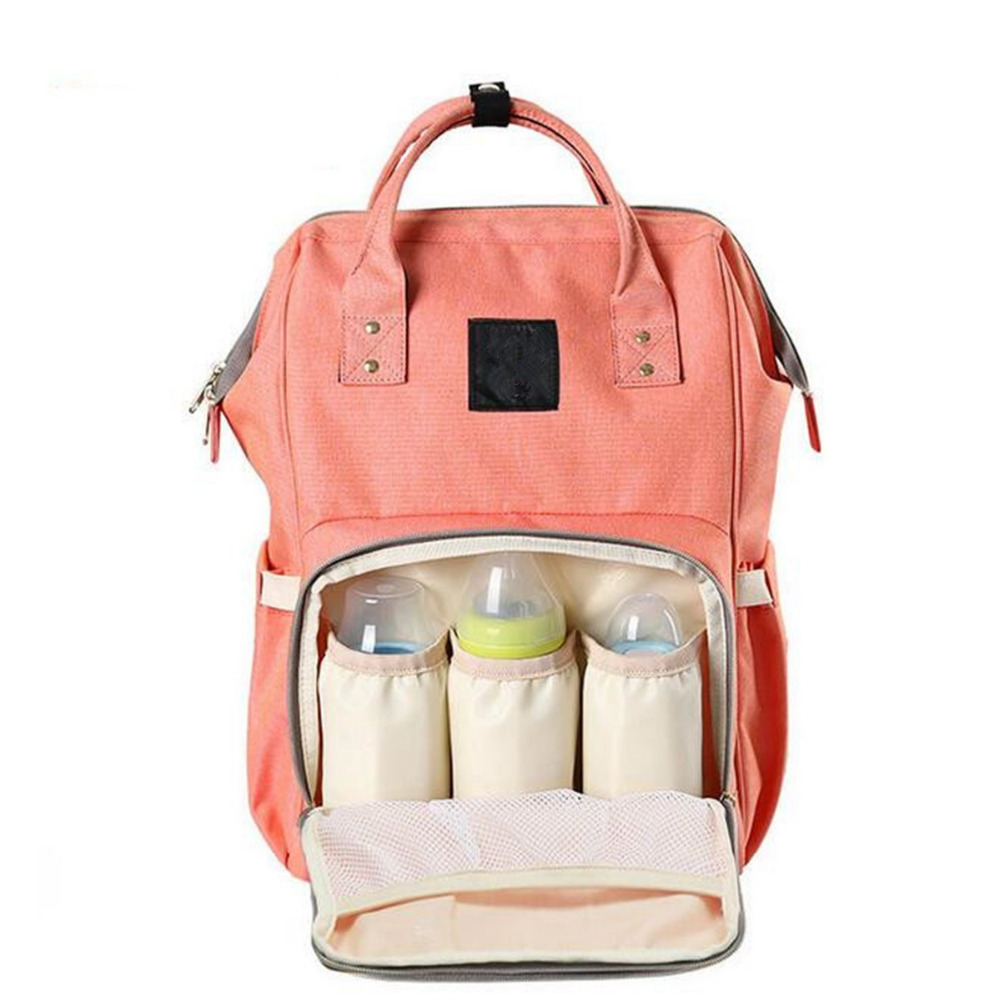 New Multifunctional Baby Diaper Bags Backpack Mommy Handbag Nappy Changing Bag nina ricci яркий платок с абстрактным рисунком nina ricci 2472