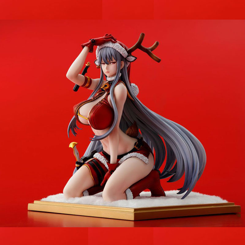 16cm Anime Sexy Valkyria Chronicles Selvaria Bles Selvaria Bles Christmas Installe Action Figure Toys Doll Collection
