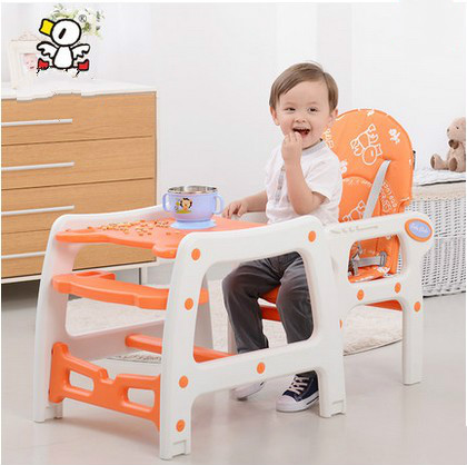 Multi-functional plastic children eat chair baby infant child seat chair table for dinner multi functional plastic children eat chair baby infant child seat chair table for dinner