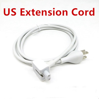 US Plug 1 8M AC Cord Power Adapter US America Extension Cable for font b MacBook