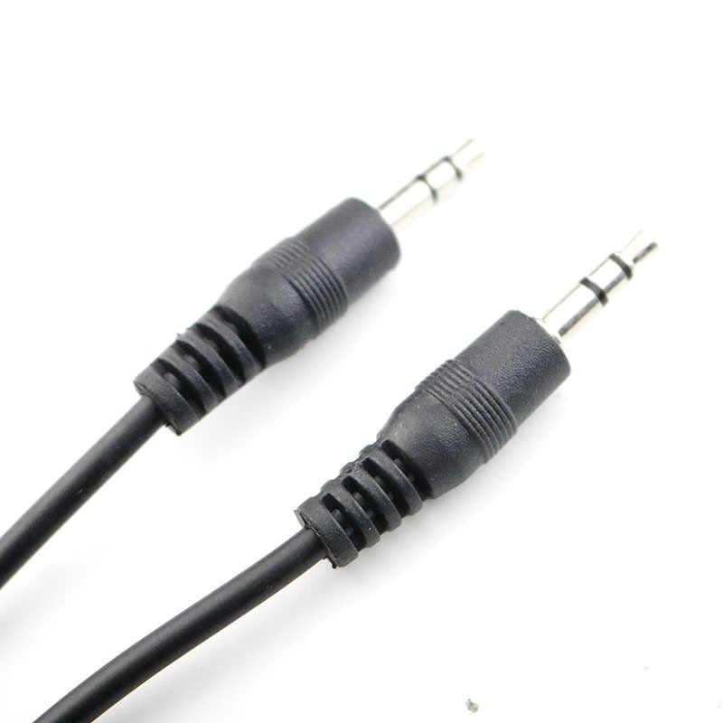 1M kabel Audio Jack 3.5mm do 3.5mm przewód aux z męskiego na męskie kabel złota wtyczka samochód przewód aux na słuchawki JBL samochodu Xiaomi iphone