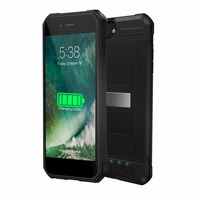 3000mAh Rechargeable Power Bank Phone Case Protective Cover Smart Phone Battery Charger Case With 4 LED