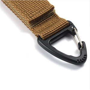 Image 5 - Roman tırmanma aksesuarı Carabiner yüksek mukavemetli naylon taktik sırt çantası anahtar kancası dokuma toka asılı sistemi kemer toka asılı
