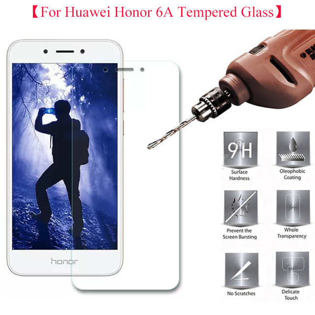 2.5D Tempered Glass For Huawei Honor 6A Screen Protector Σκληρυμένο προστατευτικό φιλμ για Honor Holly 4 Honor Play 6A DLI-TL20 5.0 ""